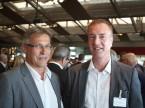 Christian Müller , président de la section zurichoise de l'UPSA, et le secrétaire de la section Diego De Pedrini.