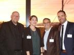 Compétence d'Eurotax : (de g. à dr.) Roland Strillka, Patricia Schaufelberger, Olivier Lourdin et Patrick Schneider.