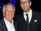 André Hefti, directeur du Salon de l'auto de Genève, et Dieter Jermann