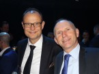 Giorgio Feitknecht, CEO d'ESA, et le directeur d'auto-suisse Andreas Burgener